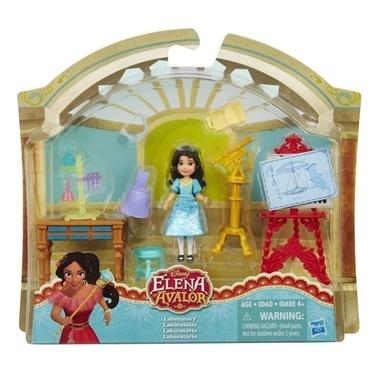 Disney Princess Disney Prenses Elena Mini Figür Oyun Seti Renkli